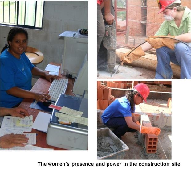 Layout3- Perempuan terlibat, dalam perancangan dan konstruksi. Project di Suzana, bersama USINA.