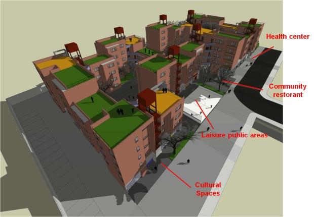 Layout4- Project di Suzana, rancangan USINA bersama masyarakat